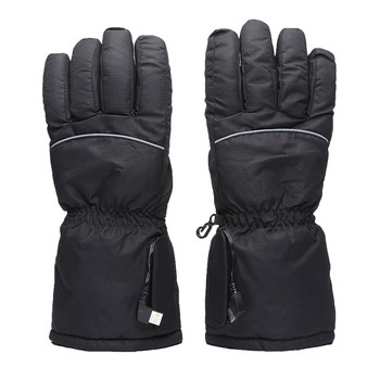 цена на Outdoor Skiing Gloves Finger Electric Gloves USB Heating Battery Ski Gloves Thick Heating Gloves Winter Keep Warm Gloves