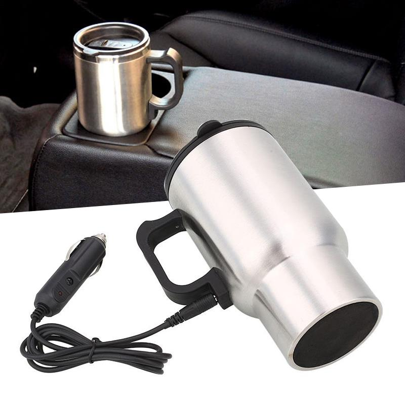 Electric Kettle Thermal Insulated Cup Thermos Thermos Car Heated Mug Mug Tea Coffee 450ML