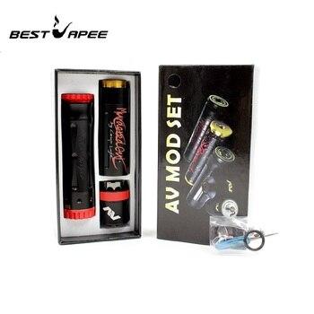 E-cigarette Kit Avid Lyfe Double Tube Timekeeper V2 Mech Mod and AV RDA Starter Kits Time Keeper Tube Competition Mechanical Mod
