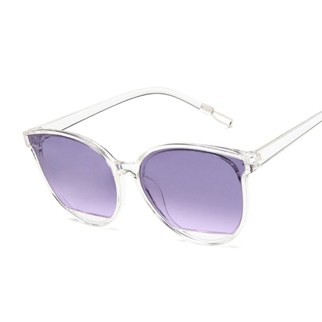 Women Vintage Metal Mirror Classic Vintage Sun Glasses  3