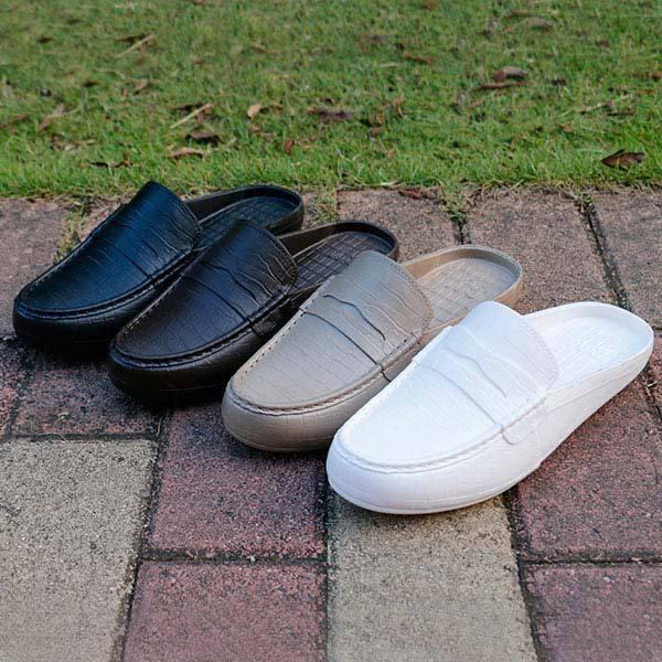 Black Slippers Men Trend Pvc Beach Sandals Baotou Non-slip Outdoor Sandals