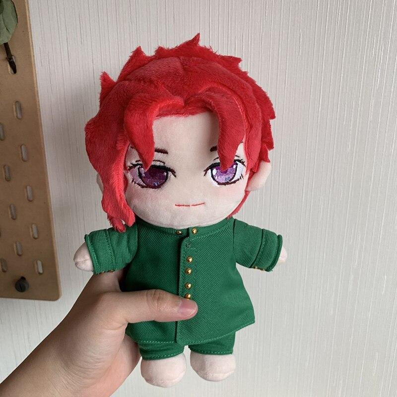 Anime JoJo's Bizarre Adventure Kakyoin Noriaki Cosplay Cute DIY Change Doll PlushToy Dress Up Clothing Pillow Puppet Xmas Gift