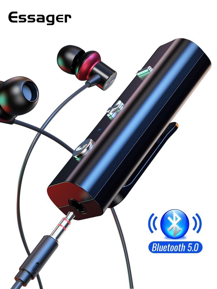 Essager Earphone Audio-Music-Transmitter Bluetooth Aux Wireless-Adapter
