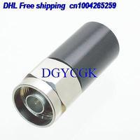 DHL 10 piezas N macho conector de enchufe 5W RF terminación coaxial cargas maniquí DC 0 6GHZ plata conector 22rd Accesorios de batería y accesorios de cargador     -
