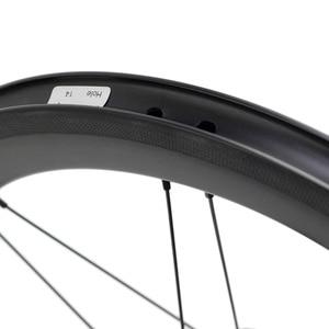 "Image 3 - אופני פחמן זוג גלגלי 5 6 7 מהירות 16x1 3/8 ""349 זוג גלגלי 14H/21H לברומפטון 3 שישים Ultralight מתקפל אופני גלגלים"