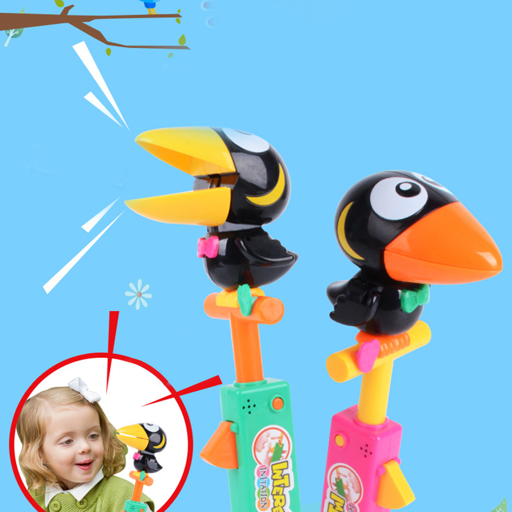 Voice-activated Recording Toy Talking Toucan Impersonators Toy Children Audio Recording Animal Frog Induction Voice Control