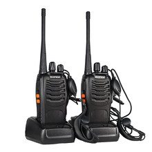 2pcs Baofeng BF-888S Walkie Talkie bf 888s Two Way Radio For Ham Hunting BF888s UHF VHF HF Transceiver 16 Channel Radio Station(China)