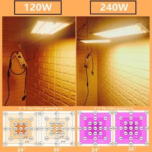 Image 5 - Предварительная продажа 120 Вт 240 Вт светодиодная световая доска Samsung LM301B QB, встроенная с 3000K 5000K 660nm IR полный спектр DIY MW драйвер
