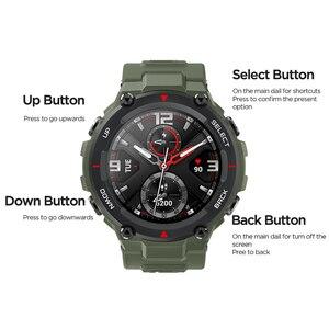 Image 5 - Amazfit T rex T רקס הגלובלי גרסה Huami Smartwatch GPS 20 ימים סוללה חיים דופק 14 ספורט מצב 5ATM