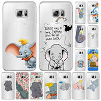 Funda de silicona Para Samsung Galaxy S6 S7 S8 S9 A7 2018 PLUS EDGE NOTE 8 9 Anti caída Animados 3d