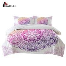 Набор постельного белья miracille с рисунком мандалы пододеяльник