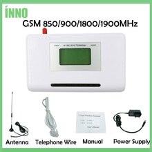 GSM 850/900/1800/1900MHZ Fixed wireless terminal mit LCD display, unterstützung alarm system, TK-ANLAGE, klare stimme, stabile signal