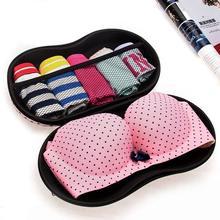 Viagem malha underwear sutiã caixa de armazenamento lingerie portátil proteger titular suprimentos material engrenagem produto organizador casa acessórios