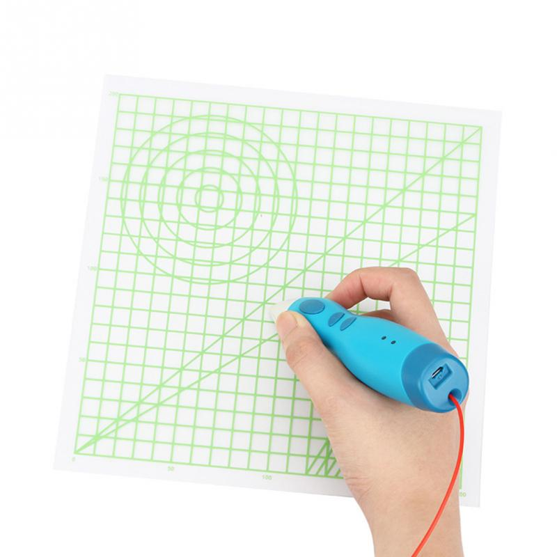 Silicone Design Mat Create 3D Objects Drawing Tool For 3D Printing Pen Useful Art Supplies Multi-shaped Basic Template Gift