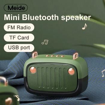 USB Mini Bluetooth Speaker Portable Wireless Loudspeaker Sound System 3D Stereo Music Surround Outdoor Speaker Support FM TFCard mini bluetooth speaker portable wireless speaker sound system 3d stereo music surround tf usb super bass column acoustic system