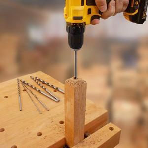 Image 3 - 200Mm 8Pc Twist Drill Bit High Speed Steel 4.0/4.2/4.5/5.0/5.2/6.0/8.0/10mm For Metal Hss Twist Bits Drilling Bit Tools For Wood
