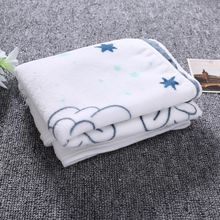 1 Pc Baby Blanket Soft Flannel Photography Monthly Photo New