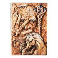 Креативный волшебный тисненый A5 Кожаный Блокнот-дневник блокнот дорожный дневник планировщик Книга Школьные офисные принадлежности