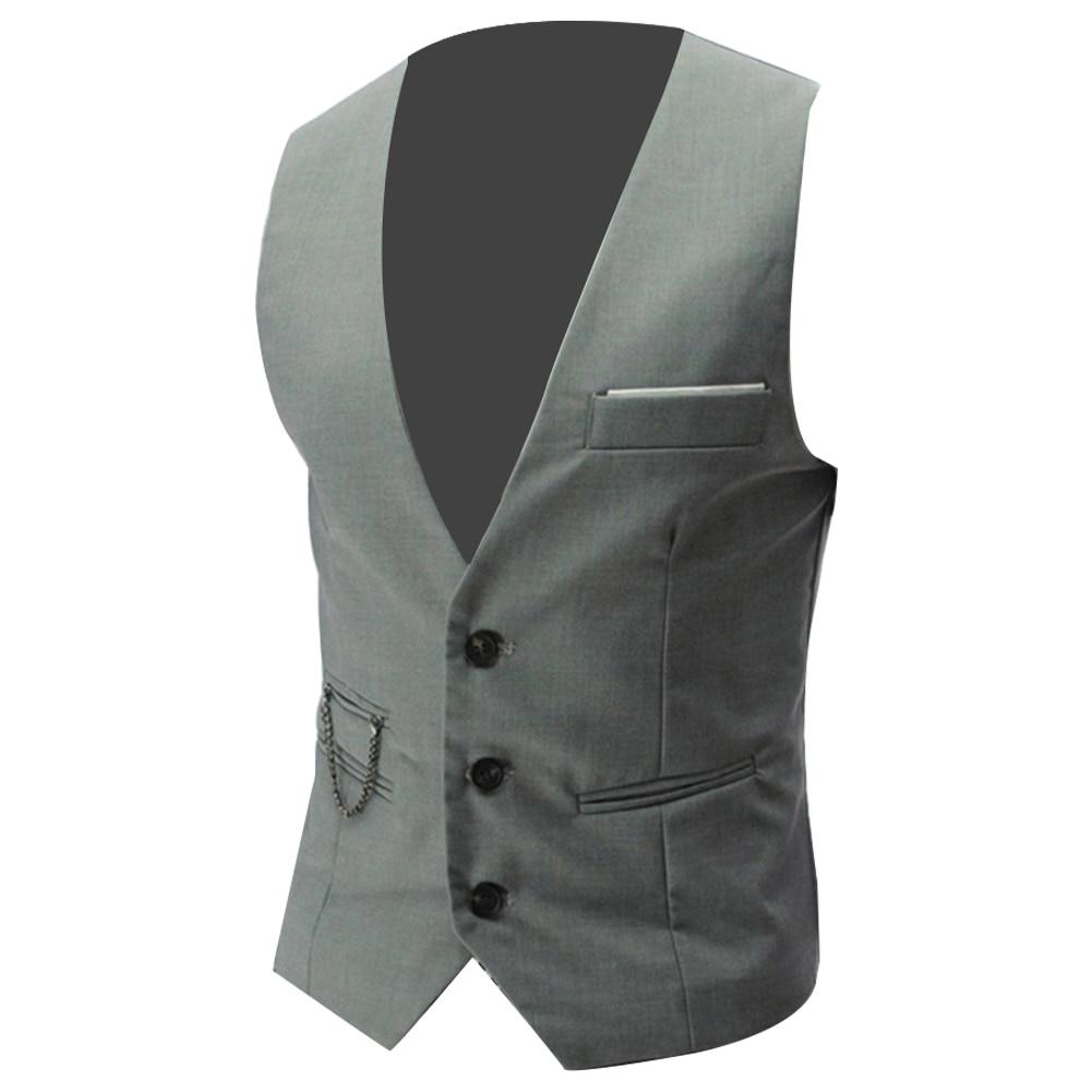 Hd87a6b9cecea40de891bb2fe83872ac29 - 2020 New Arrival Casual Sleeveless Formal Business Jacket Dress Vests For Men Slim Fits Mens Suit Vest Male Waistcoat Homme