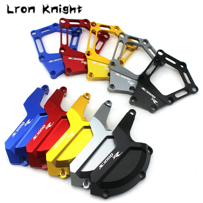 For BMW S1000R S1000 R S 1000 R 2014 2015 2016 2017 2018 Motorcycle CNC Engine Saver Stator Case Guard Cover Slider Protector(China)