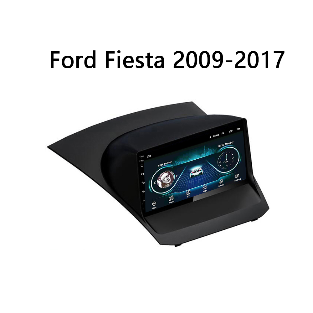 Car central video For Ford Fiesta stereo system 2009-2017 GPS Player Autoradio multimedia system video Touch Screen mirror link