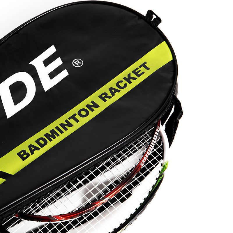 Mode Badminton Schläger Tasche Schläger Abdeckung Training Fit 2 Tennisschläger Erwachsene Kinder Einzelnen Schulter Racquette Sport Tasche