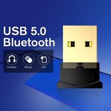 Adaptateur USB sans fil Bluetooth 5.0, Dongle pour clavier d'ordinateur, souris, haut-parleur, récepteur de musique, transmetteur