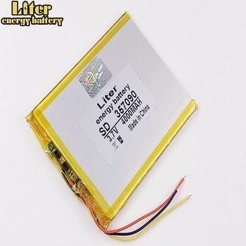"3 lines 357090 Battery 7"" For Prestigio Grace 3118 3G PMT3118 Tablet Battery 3.7V 4000mah Polymer li-ion 1"
