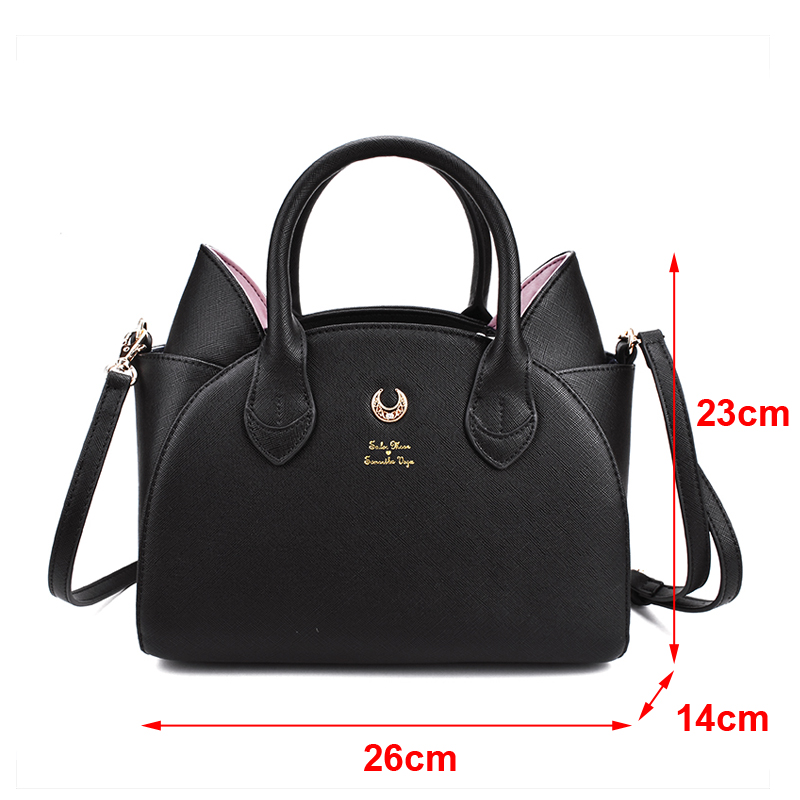 Sailor-Moon-x-Samantha-Vega-Luna-Artemis-Designer-Handbag-Shoulder-Bag-SailorMoon-20th-Anniversary-Luna-Bag