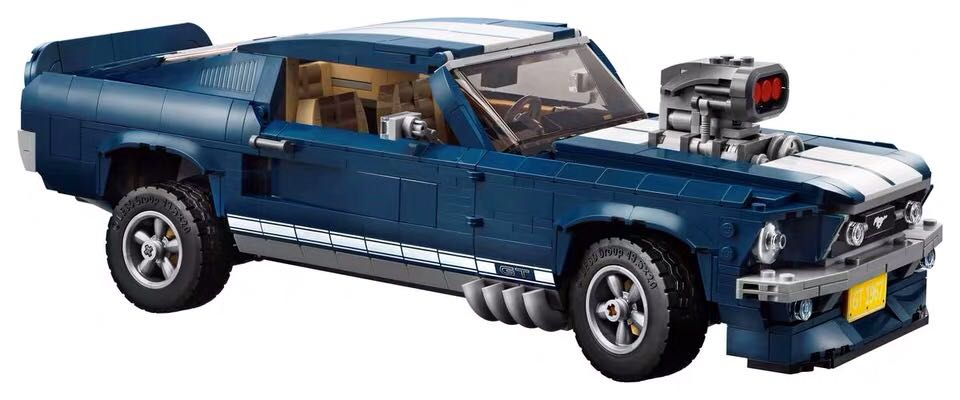 New Lepining Technic GT500 1967 Creator Expert Ford Mustang Compatible 10265 Building Blocks Bricks DIY Toy Christmas Gift