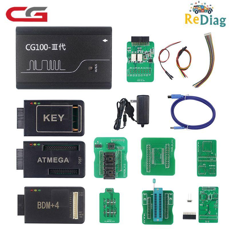 CG100 PROG III Supporta Tutte Le Funzioni di Renesas SRS Airbag Ripristinare Reset Tool Funziona CAS3/3 +/4 /4 + chiave di Programmazione CG 100 III