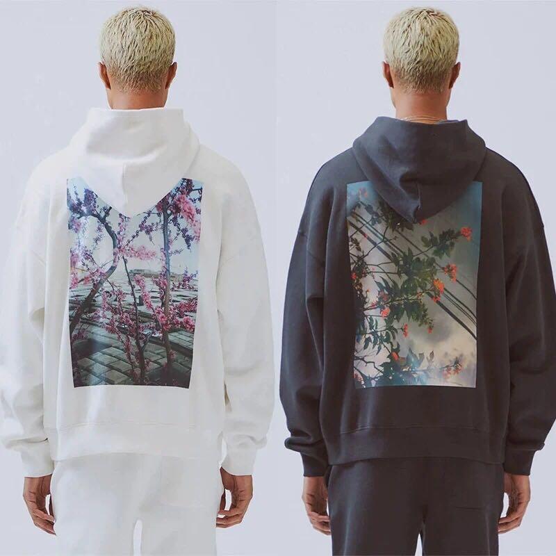 QoolXCWear  Men/women Print  Hoodies Sweatshirts Kanye West Loose Ovesized Hoodies Essentials Hip Hop Cotton Sweatshirts
