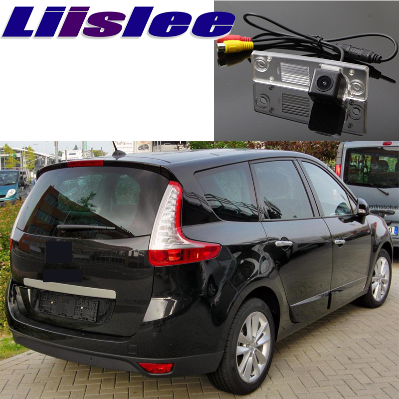 Liislee For Renault Sonic 3 III Grand Scenic Car Camera High Reverse Rear View Camera To Use CCD With RCA Connector