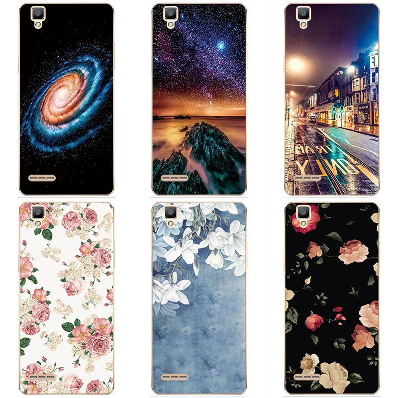 Soft silicone phone <font><b>case</b></font> Soft TPU Print cover For <font><b>OPPO</b></font> F1(<font><b>A35</b></font>) Soft silicon Original painting skin shell image