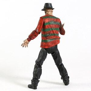 "Image 5 - NECA Nightmare On Elm Street Freddy Krueger 30th PVC Action Figureของเล่นสะสม7 ""18ซม"