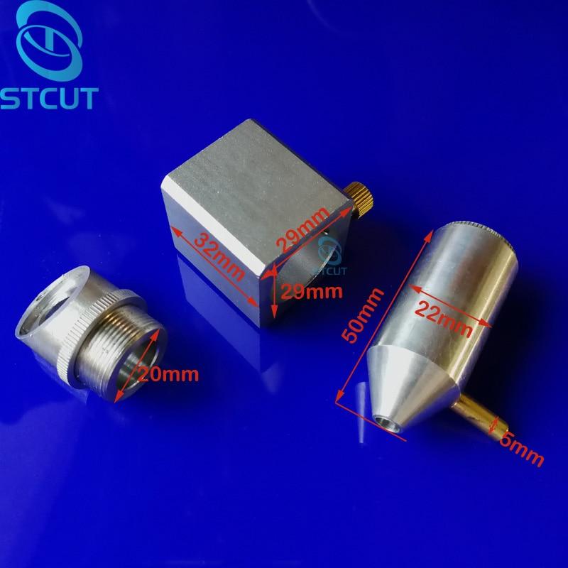 CO2 lézer gumi bélyegző gravírozó gép K40 lézerfej integrált - Famegmunkáló gépek alkatrészei - Fénykép 2
