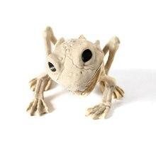 Halloween Horror Animal Decoration Iguana Frog Bat Skeleton Model Haunted House Props