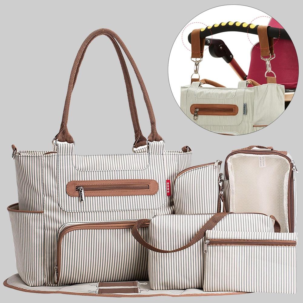 Handbag Baby Diaper Bag Organizer Bags For Mummy Mother Maternity Baby Bags For Mom Mommy Stroller Children Maternal Nappy Bag
