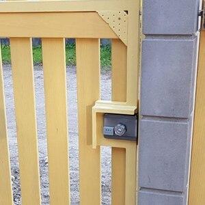 Image 5 - Электронный RFID замок на дверные ворота/умный электрический ударопрочный замок, магнитная Индукционная система контроля доступа к входной двери с 15 метками