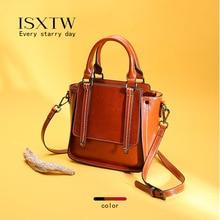 ISXTW Fashion Women Handbag Travel Shoulder Bag Ladies Leather Handbag Ladies Travel Wallet And Messenger Bag Vintage Style /D5 цена