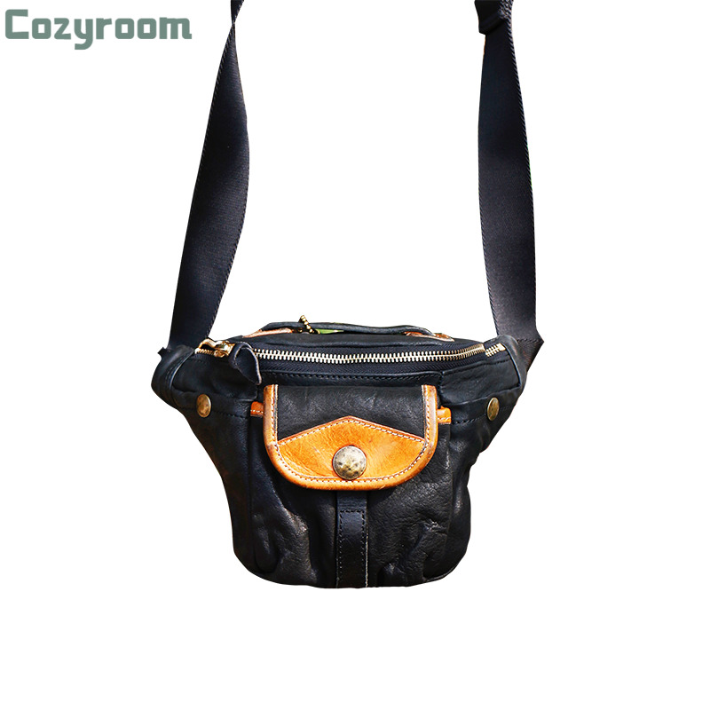 CDXB1 Size 18*15*6cm Super Quality Genuine Cowhide Leather Backpack Stylish Cow Leather Casual Smart Bag