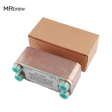 20/30 Plates Wort Chiller,Heat Exchanger Counter Flow Cooler For Homebrew Beer Wine Brewing Stainless Steel Cooling Tools Tools