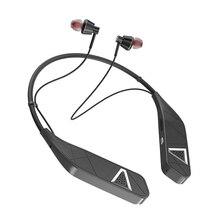 Sports Hanging Neck Bluetooth 5.0 Earbud Neckband Stereo Headset Headset Bluetoo