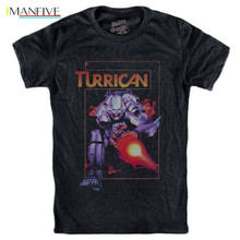 TURRICAN T-shirt Commodore 64 Nes Snes Gameboy Gift Print T-shirt Hip Hop Tee T Shirt NEW ARRIVAL(China)