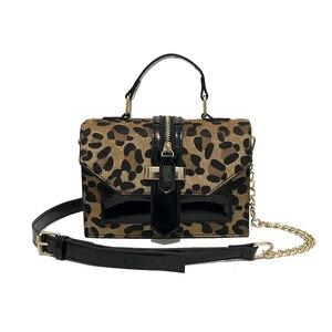 Image 5 - Vintage Leopard Crossbodyกระเป๋าสำหรับสตรี2020 Chain Messengerกระเป๋าหญิงสลิงLuxuryกระเป๋าและกระเป๋าถือ