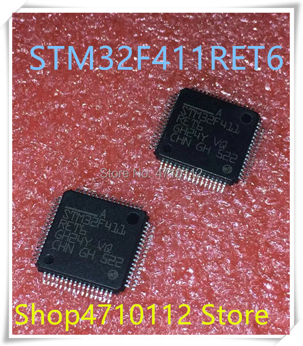 NEW 5PCS/LOT STM32F411RET6 STM32F411RE STM32F411 RET6 LQFP-64 IC