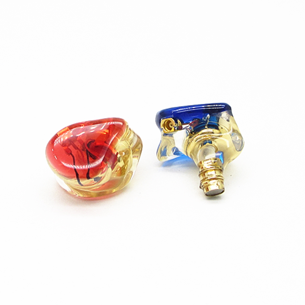 MMCX Bass HIFI Dynamic in ear Resin Earphone interface Earbuds Headset IEM Hifi A2 image