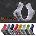 Мужские, женские, мужские, взрослые, спортивные, футбольные носки, противоскользящие, в полоску, для баскетбола, для бега, велосипеда, атлети...
