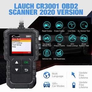 Image 2 - LAUNCH X431 CR3001 OBD 2 Auto Scanner Diagnostic Tool Multi language Creader ODB2 3001 Code Reader PK ELM327 V1.5 OM123
