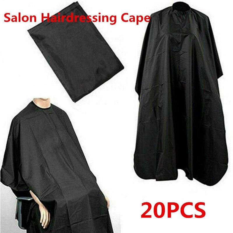 10 20 pcs preto cabeleireiro cabo profissional cabelo corte salao de beleza barbeiro pano envoltorio proteger